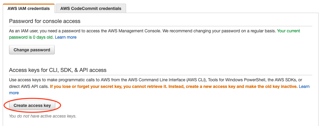 Set up AWS Command Line Interface (AWS-CLI) — GEOS-Chem on cloud
